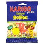 haribo mini yellow belly 50p 70g