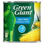 green giant salt free sweetcorn 340g