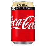 coke vanilla zero 55p cans 330ml
