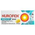 nurofen cold & flu tablets 8s
