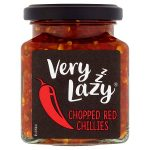 very lazy chopped red chillies jar 190g