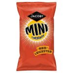 mcv mini cheddars red leicester 50g