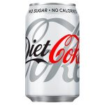 coke diet cans 65p 330ml