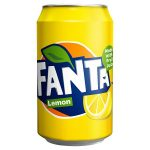 fanta lemon can 330ml