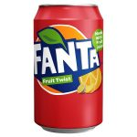 fanta fruit twist cans 330ml