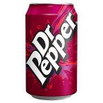 dr pepper cans 330ml