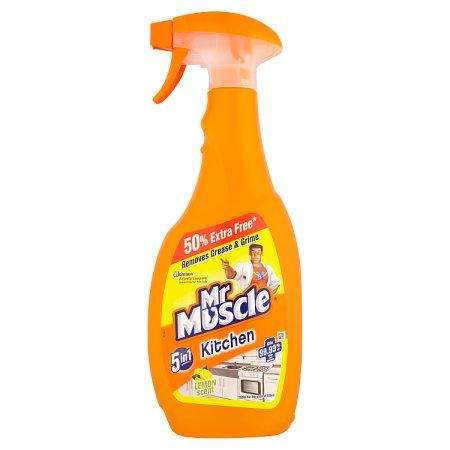 mr muscle kitchen spray 750ml