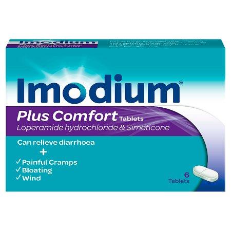 imodium plus comfort 6s