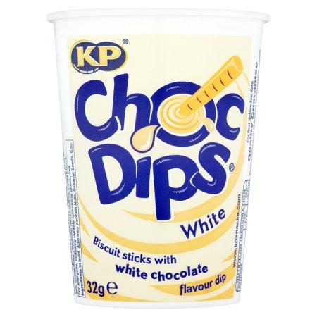 kp choc dips white chocolate 32g