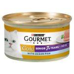 gourmet gold senior pate ocean & salmon pate 85g