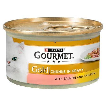 gourmet gold salmon & chicken gravy 85g