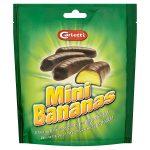 hannah choc mini bananas 24s