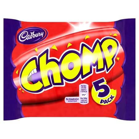 cadbury chomp [5 pack] 5pk