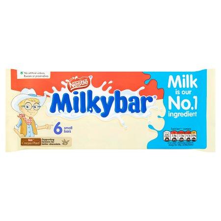 nestle milkybar small [6 pack] 6pk