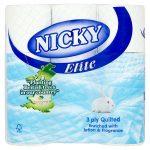 nicky elite blue toilet roll 9roll