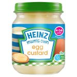 heinz mum egg custard 120g