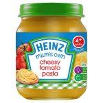 heinz mum cheesy tomato pasta 120g