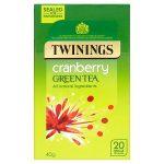 twinnings green & cranberry 20s
