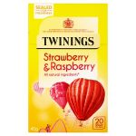 twinnings strawberry & raspberry 20s