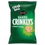 mcvities mini cheddar crinkly cheese 50g