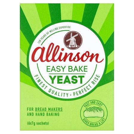 allinson easy bake yeast 7g
