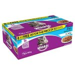 whiskas pouch fish 100g