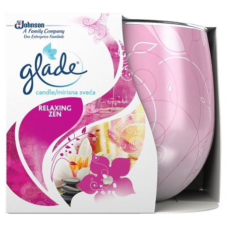 glade candle relaxing zen std