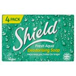 shield aqua soap 4x125g