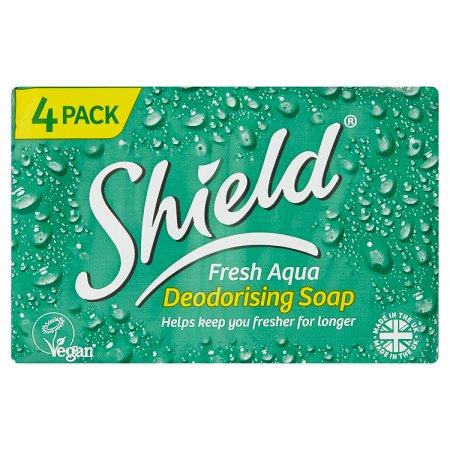shield aqua soap 4x125g
