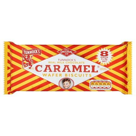 tunnocks caramel wafer [8 pack] 8pk