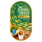john west kipper fillets in sunflower oil 160g
