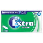 wrigley extra spearmint soft chew 12s