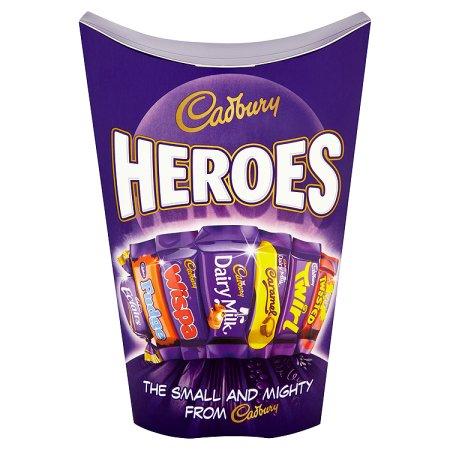 cadbury heroes 185g