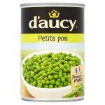 daucy peas very fine 400g
