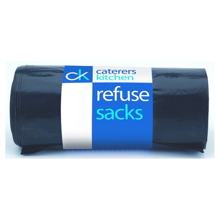 caterers kitchen refuse sacks heavy duty 25s