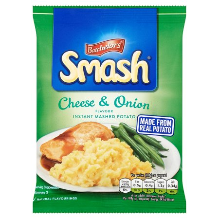 smash cheese & onion 107g