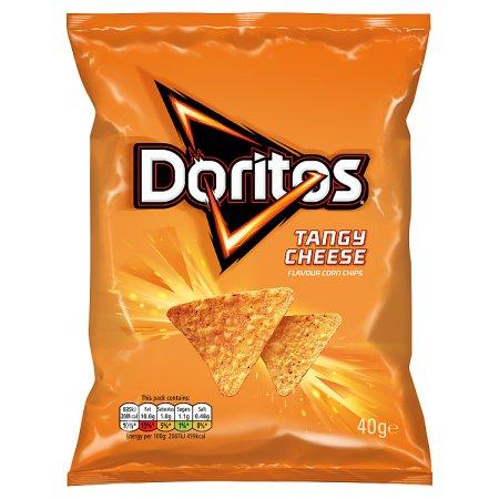 doritos tangy cheese 40g