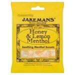 jakemans honey & lemon bag 100g