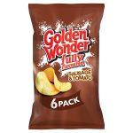 golden wonder sausage & tomato [6 pack] 6x25g
