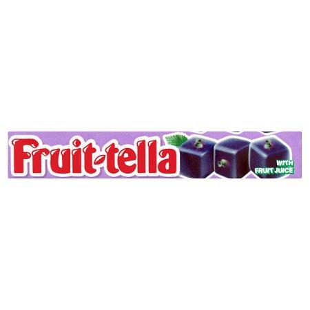 fruittella blackcurrant 40s