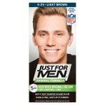 just 4 men hair dye light brown 45ml