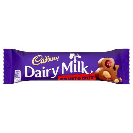 cadbury fruit & nut 49g