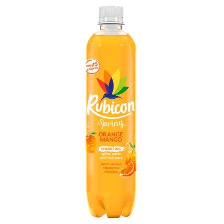 rubicon spring orange & mango 500ml