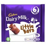 cadbury dairy milk little bars [6 pack] 6 pk