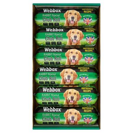 webbox rabbit chubs 800g