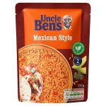 uncle bens spicy mexican express rice 250g