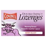covonia double action berry blast lozenges 30g