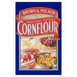 brown polson cornflour 500g