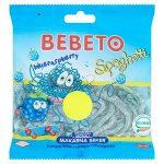 bebeto blue raspberry fizzy spaghetti 50p 70g