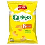 quavers cheese [6 pack] 16g